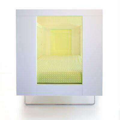 Alto 2-in-1 Convertible Crib Color: Kiwi