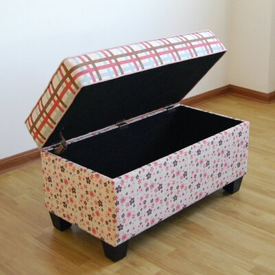 Portillo Upholstered Storage Bench