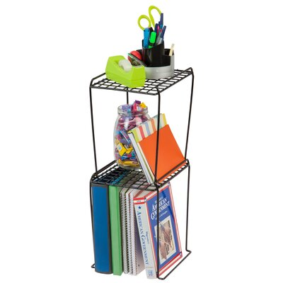 "Locker Shelf Shelving Unit Size: 12"" H, Color: Black"