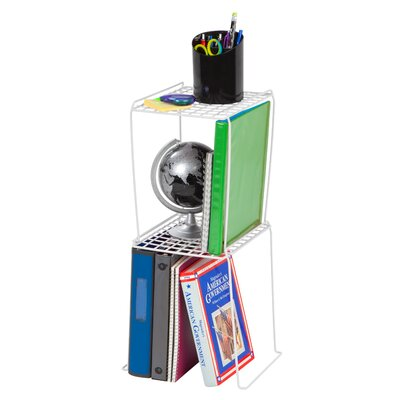 "Locker Shelf Shelving Unit Size: 12"" H, Color: White"