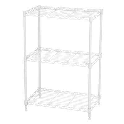 "Large Wire 31.5"" 3 Shelves Shelving"