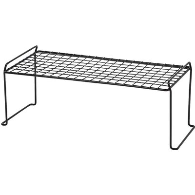 Stacking Helper Shelf Size: Large, Color: Black