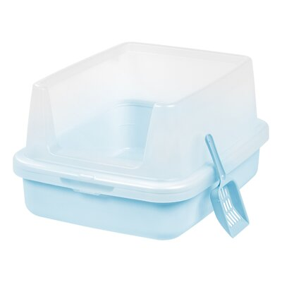 Reba Litter Pan Color: Blue