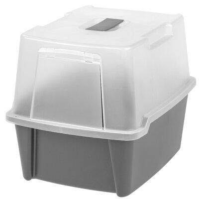 Randal Hooded Litter Box Color: Gray