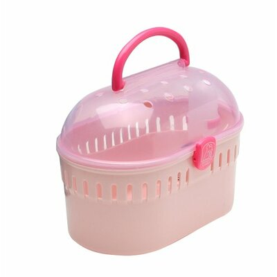 Mila Small Animal Carrier Color: Pink
