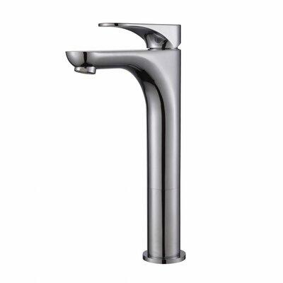Aquila Single Hole Bathroom Faucet Finish: Chrome
