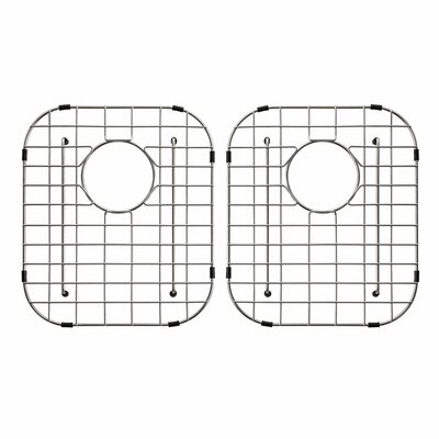 "Stainless Steel 15"" x 13"" Sink Grid"
