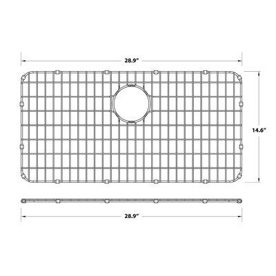 """Dex Series 14"""" x 29"""" Sink Grid"""