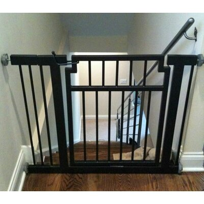 Holford Pet Gate Extension Finish: Mocha