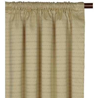 Eastern Accents Southport Rod Pocket  Single Curtain Panel