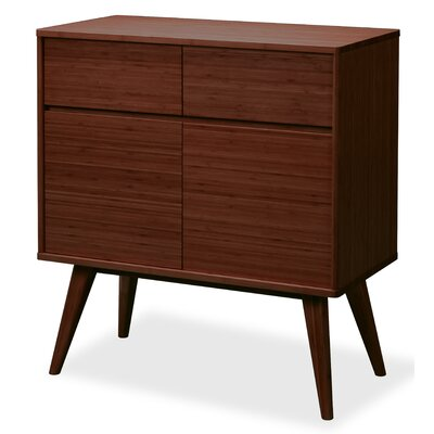 Laurel Accent Cabinet Color: Sable