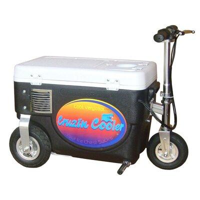 30 Qt. 300W Scooter Electric Cooler Color: Black