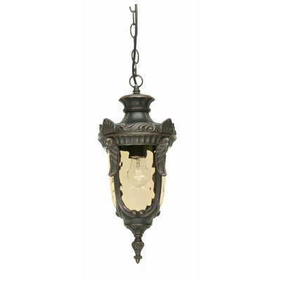 Elstead Lighting Philadelphia 1 Light Outdoor Hanging Lantern