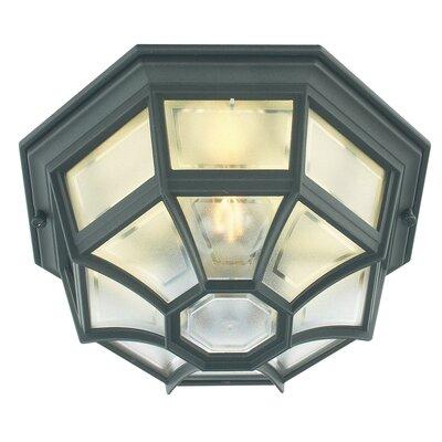 Elstead Lighting 1 Light Semi Flush Ceiling Light