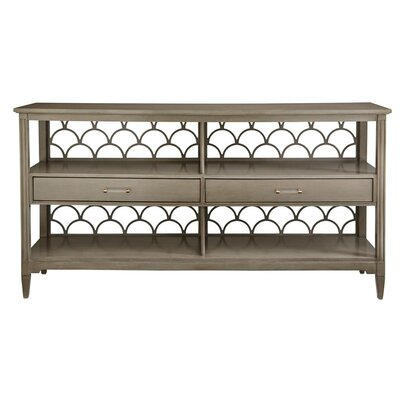Oasis Console Table Color: Grey Birch