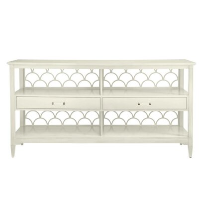 Oasis Console Table Color: Saltbox White