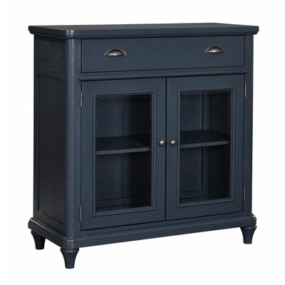 Ashgrove 2 Door Accent Cabinet Color: Navy