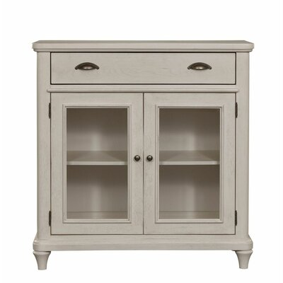 Ashgrove 2 Door Accent Cabinet Color: White