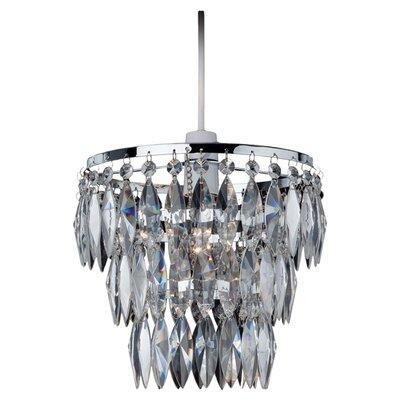 Firstlight EASY FIT 1 Light Crystal Pendant