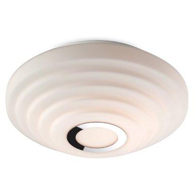 Firstlight Style 2 Light Flush Ceiling Light