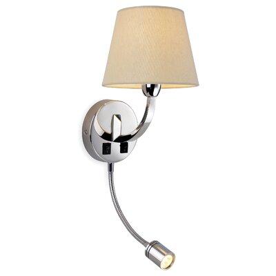 Firstlight Fairmont 2 Light Semi-Flush Wall Light