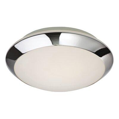 Firstlight Mondo 1 Light Flush Ceiling Light