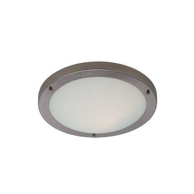 Firstlight Rondo 1 Light Flush Ceiling Light