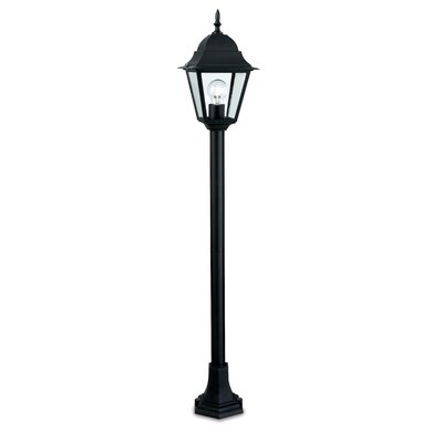 Firstlight 4 Panel 1 Light 103cm Post Lantern Set
