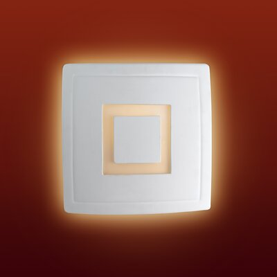 Firstlight Ceramic 1 Light Flush Wall Light