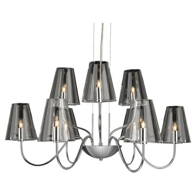 Firstlight Jasmine Nine Light Chandelier