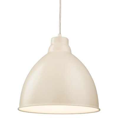 Firstlight Foxglove 1 Light Bowl Pendant