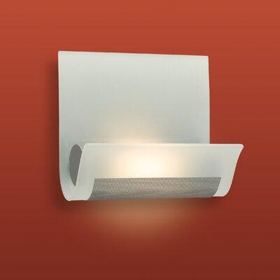 Firstlight Vetro 1 Light Flush Wall Light