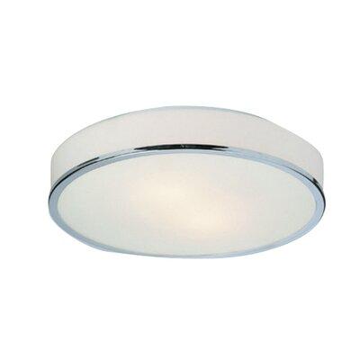 Firstlight PROFILE 2 Light Flush Ceiling