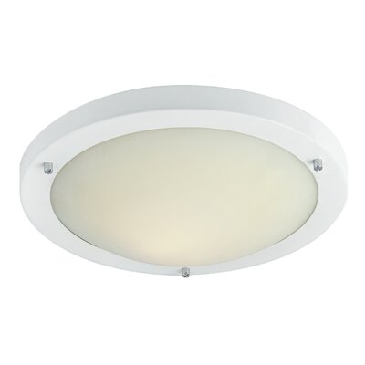 Firstlight RONDO 1 Light Flush Ceiling