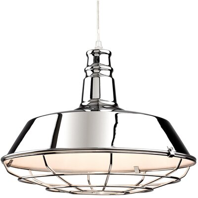 Firstlight Manta 1 Light Bowl Pendant