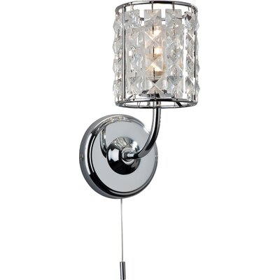 Firstlight Pearl 1 Light Semi-Flush Wall Light