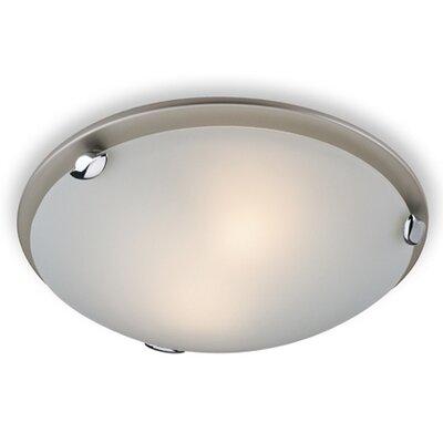 Firstlight CHAMPAGNE 2 Light Flush Ceiling