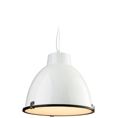 Firstlight Manhattan 1 Light Bowl Pendant