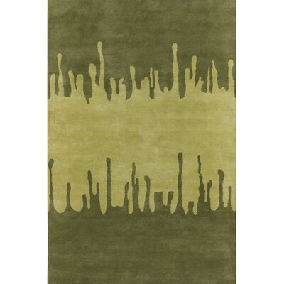 Chandra Rugs Faro Green Area Rug