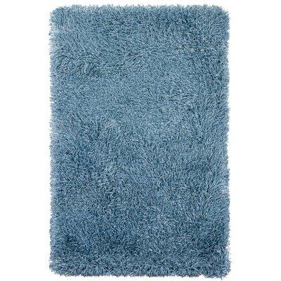 Chandra Rugs Duke Blue Solid Area Rug