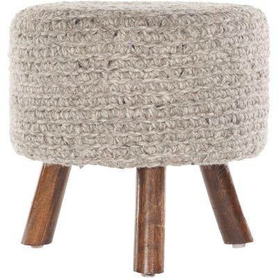 Alverez Handmade Accent stool Color: Natural