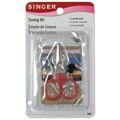 25 Piece Sewing Kit in Reusable Kit