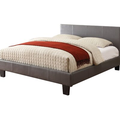 Maxwell Upholstered Platform Bed Twin Size