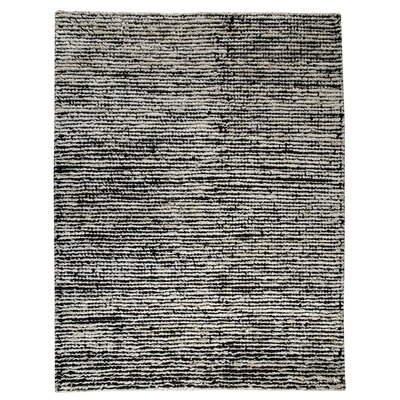 Hokku Designs Husk White/Black Area Rug