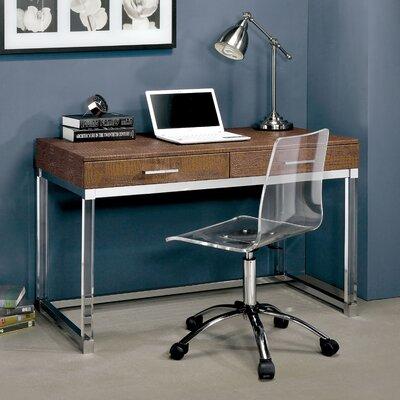 Tamia Contemporary Writing Desk Finish: Brown