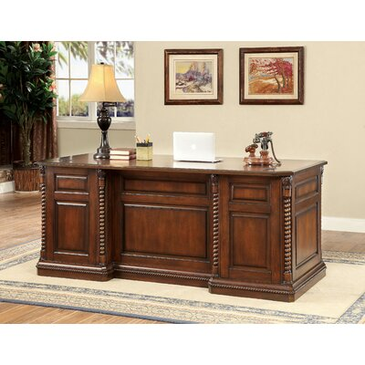 Ardnaglass Traditional Dark Oak Executive Desk