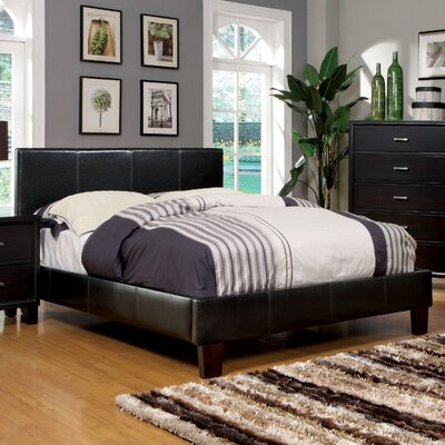 Villa Upholstered Platform Bed Twin Size