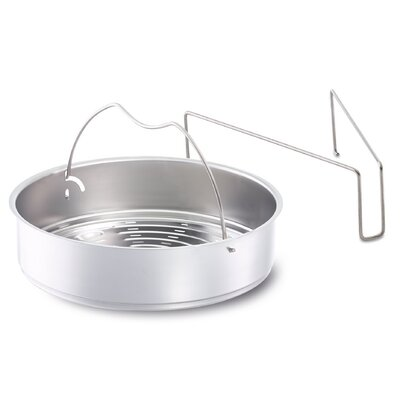 Vitaquick Perforated Pressure Cooker Insert with Tripod Size: 22cm