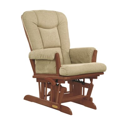 Sleigh Glider Color: Vista Bisquick, Finish: Chablis