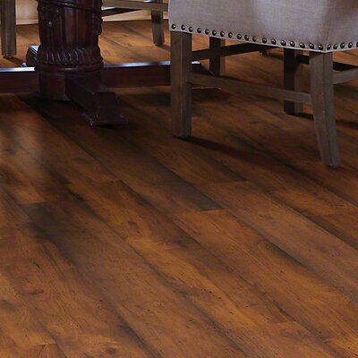 "Shaw Floors Landscapes 8"" x 48"" x 6.5mm Hickory Laminate in Landmark Hickory"